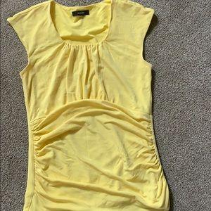 Alfani yellow blouse T-shirt